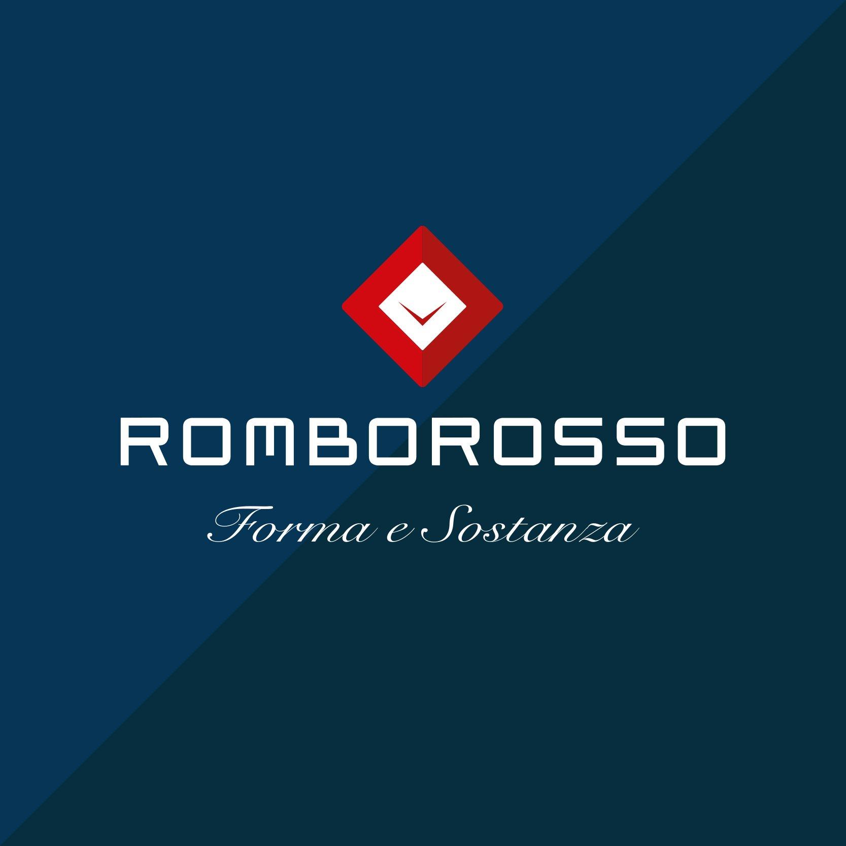 Marchio di Rombo Rosso, logo dello studio di comunicazione a Treviso