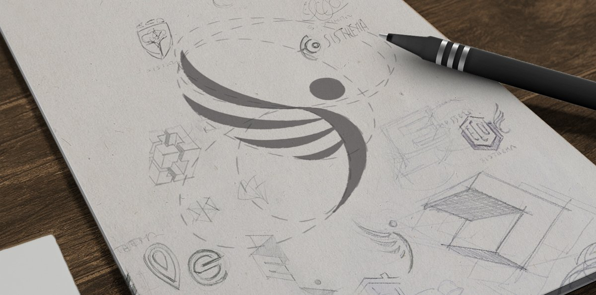 romborosso_logodesign_sketchbook