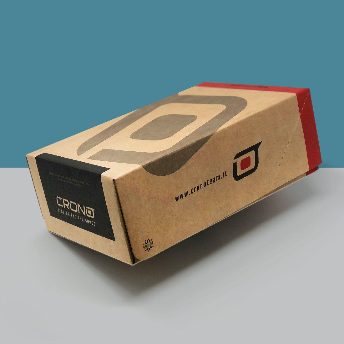 Il nuovo packaging per il Calzaturificio Sabena